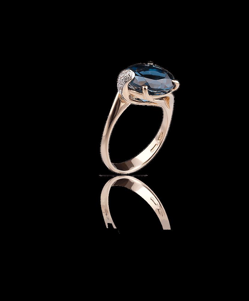 Silvia Kelly Lake Como - Lecco jewelry - Italian jewelry - London Blue Ring