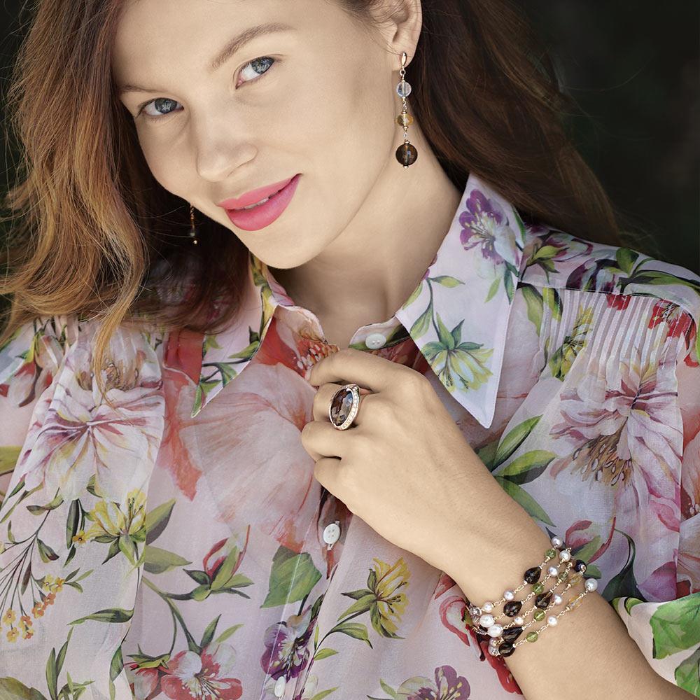 Silvia Kelly - Lecco jewelry - Italian jewelry - Ludmilla Fumè ring