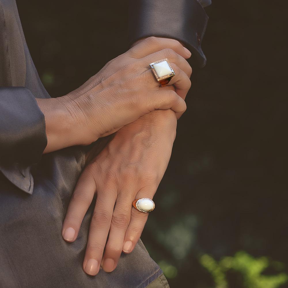 Silvia Kelly - Lecco jewelry - Italian jewelry - Amparo ring - Bice ring