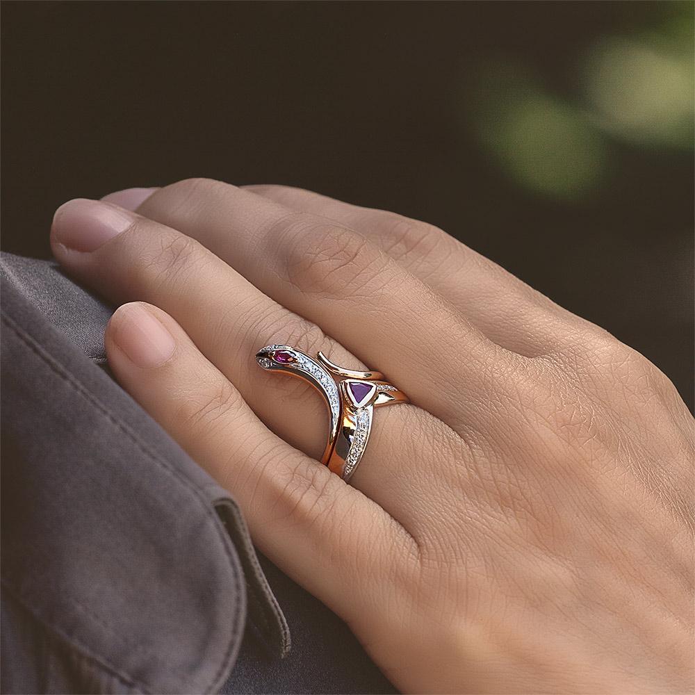 Silvia Kelly - Lecco jewelry - Italian jewelry - Eva Rubino ring