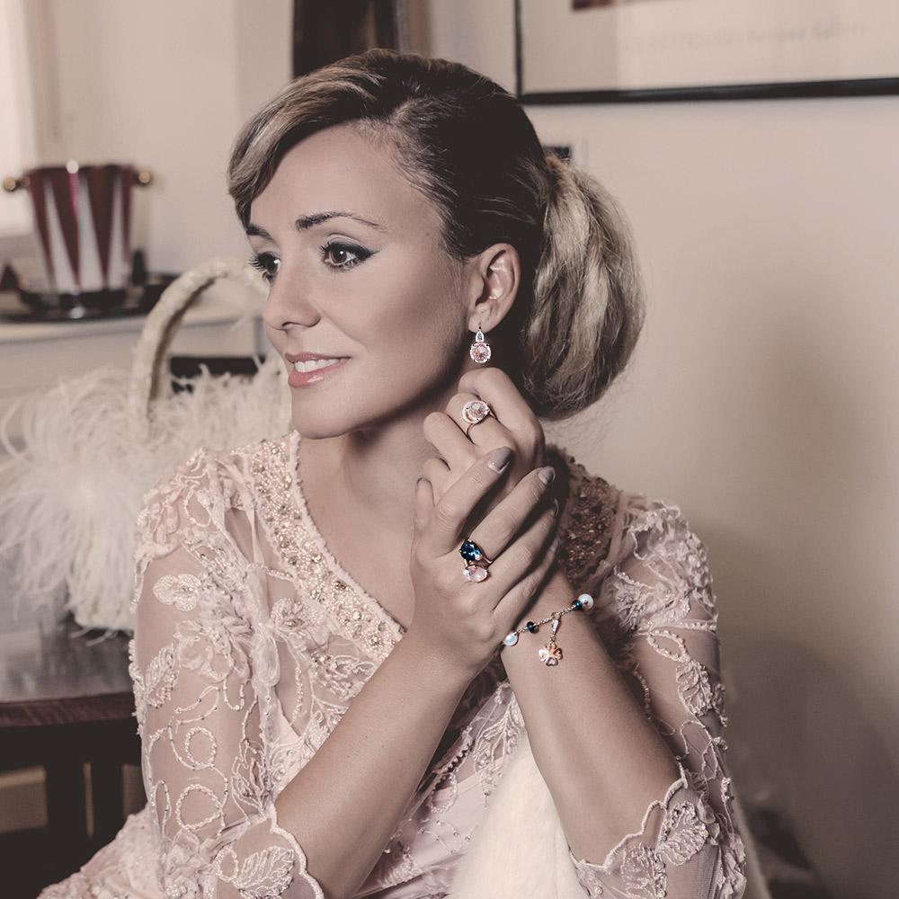 Silvia Kelly - Lecco jewelry - Italian jewelry - London Rose ring