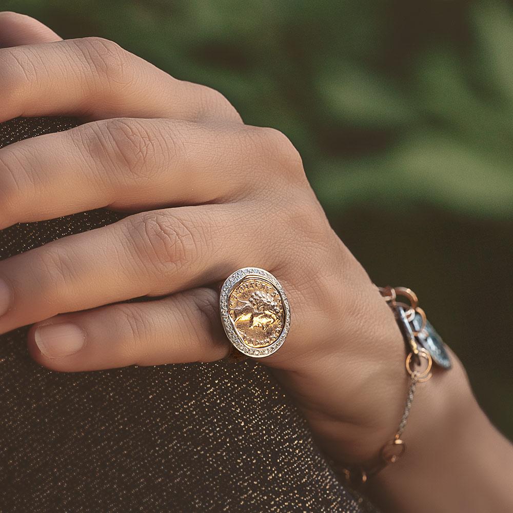 Silvia Kelly - Lecco jewelry - Italian jewelry - Moneta ring