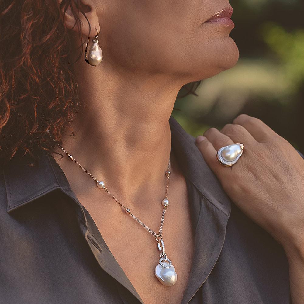 Silvia Kelly - Lecco jewelry - Italian jewelry - Pearls Parure
