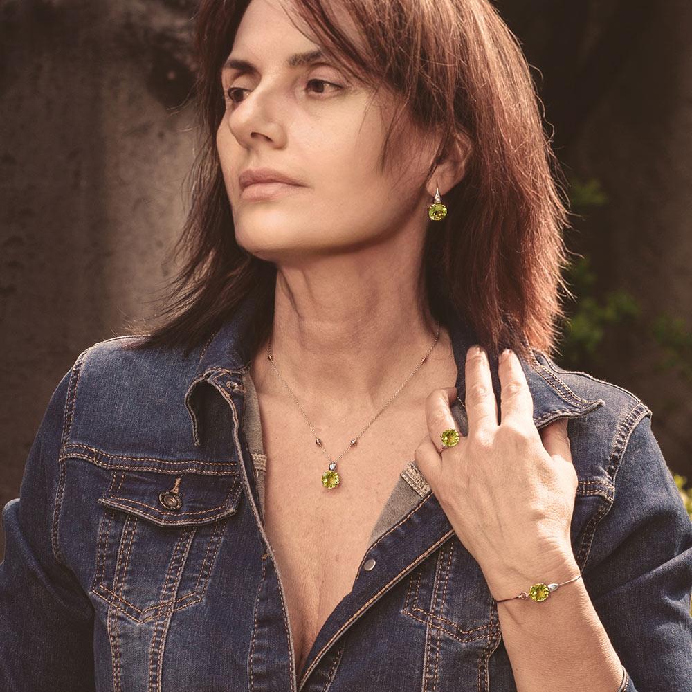 Silvia Kelly - Lecco jewelry - Italian jewelry - London Lemon Collection