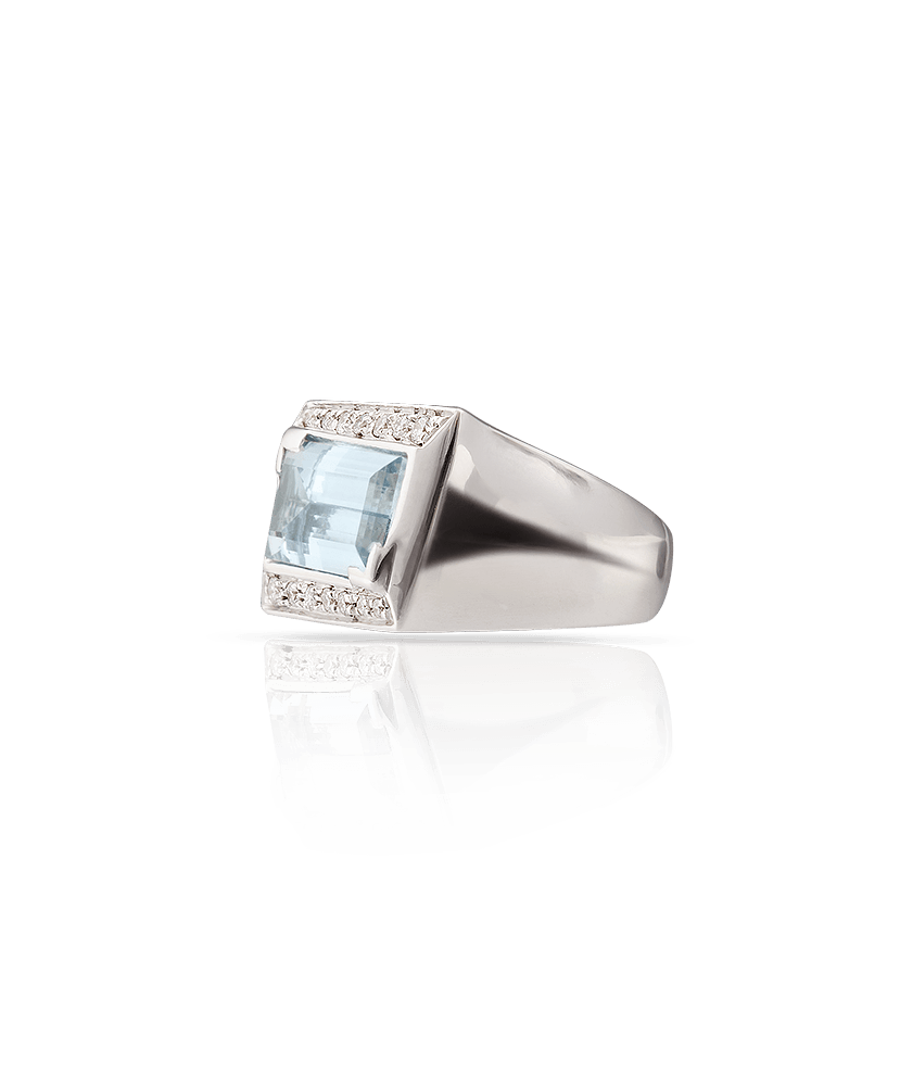 Silvia Kelly Lake Como - Lecco jewelry - Italian jewelry - Acqua ring
