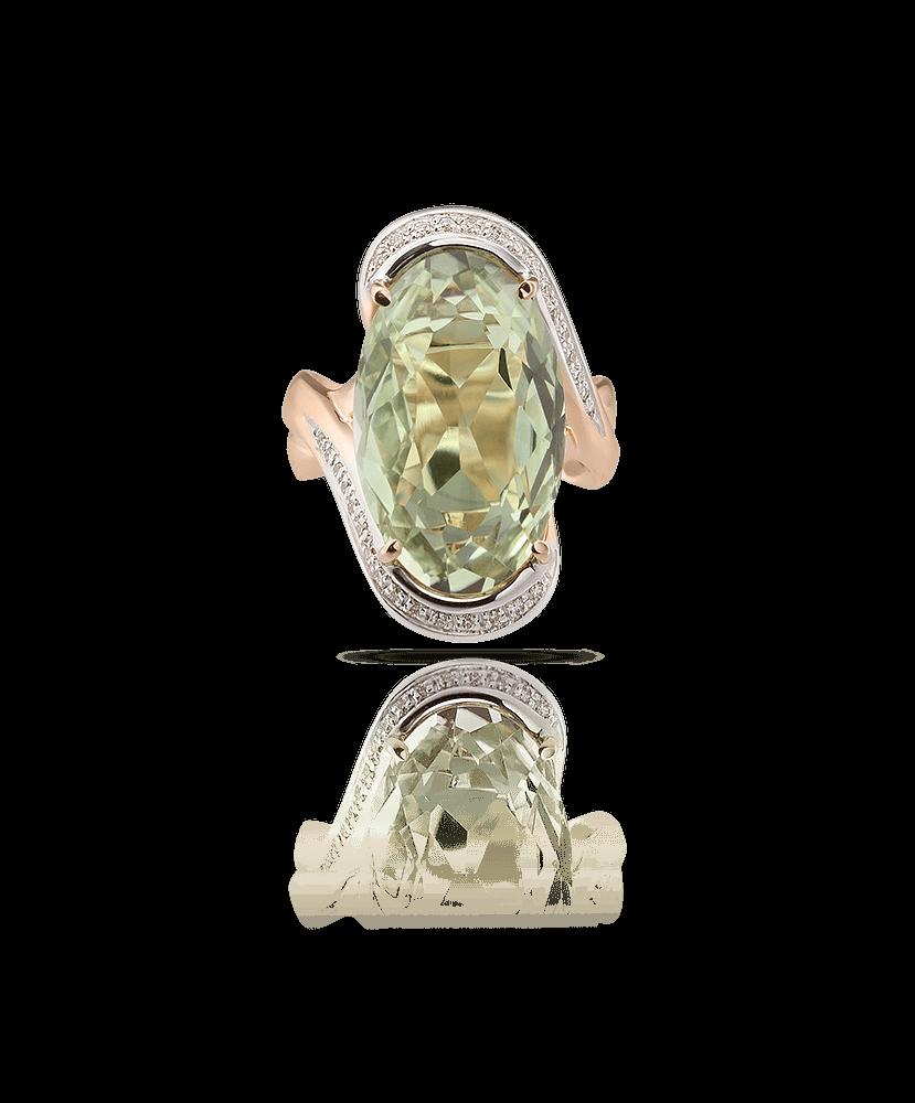 Silvia Kelly Lake Como - Lecco jewelry - Italian jewelry - Giorgia Prasiolite ring