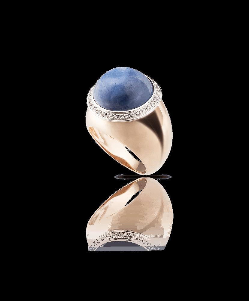 Silvia Kelly Lake Como - Lecco jewelry - Italian jewelry - Gyselle Cianite ring