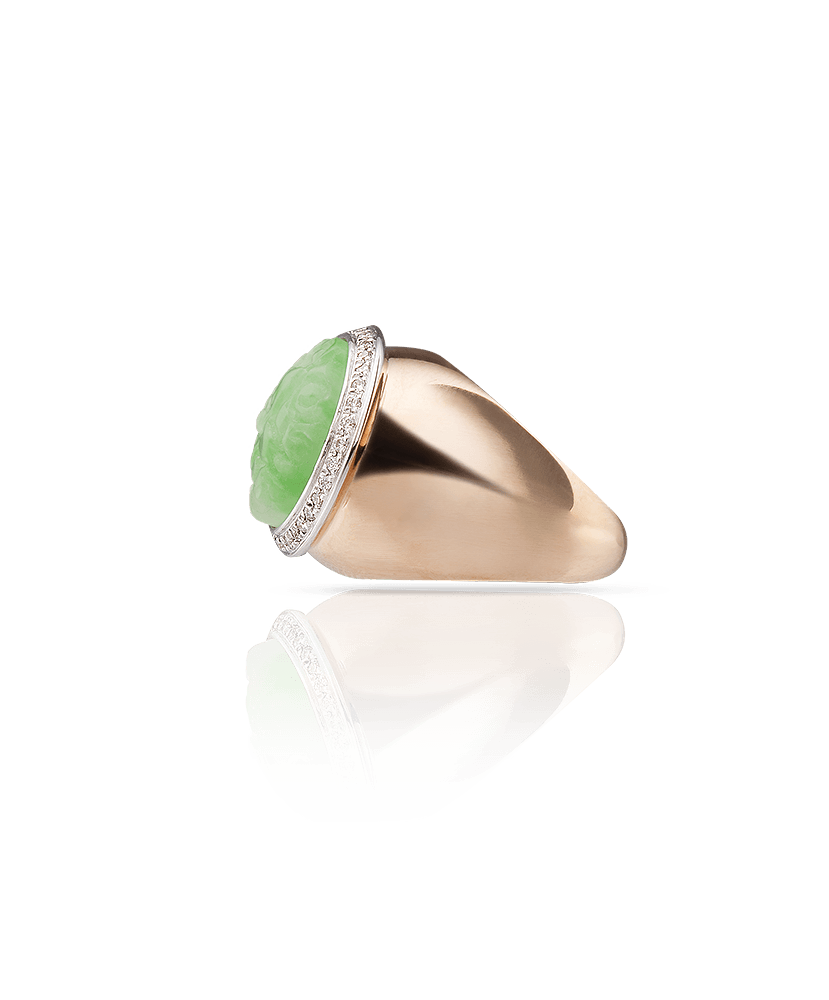 Silvia Kelly Lake Como - Lecco jewelry - Italian jewelry - Gyselle Giada ring