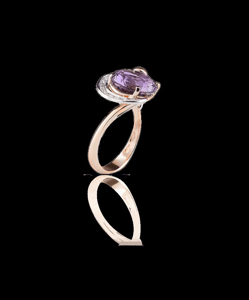 Silvia Kelly Lake Como - Lecco jewelry - Italian jewelry - Irina Amethyst ring