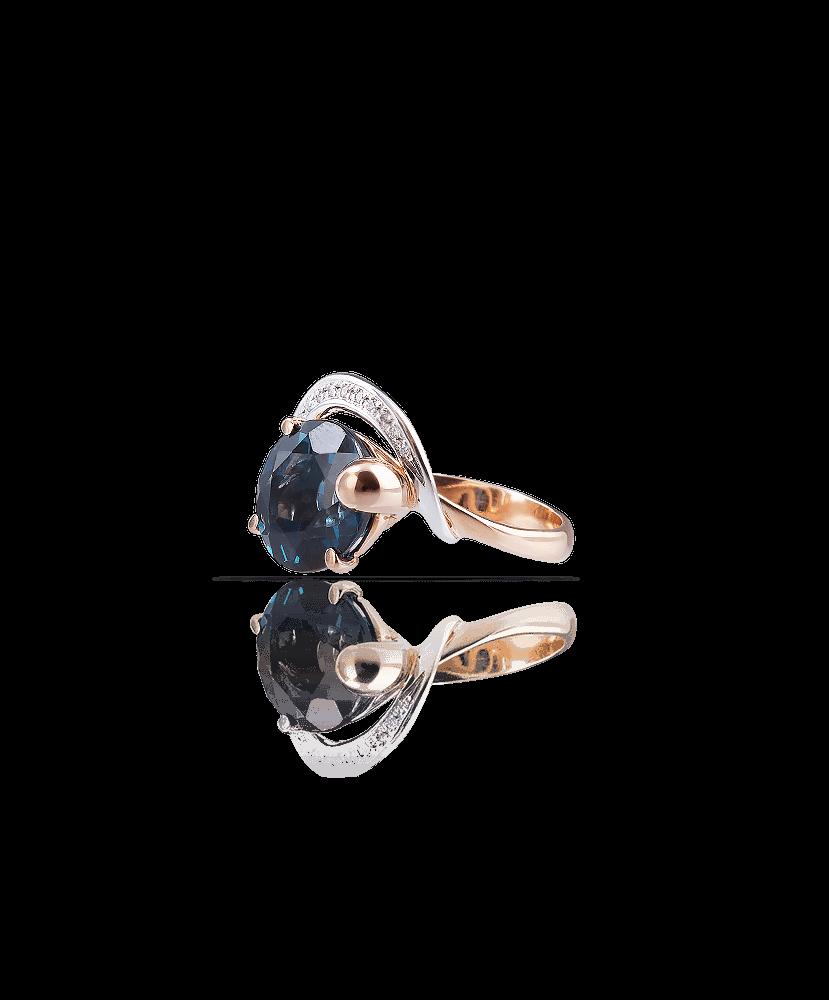 Silvia Kelly Lake Como - Lecco jewelry - Italian jewelry - Irina Blue ring