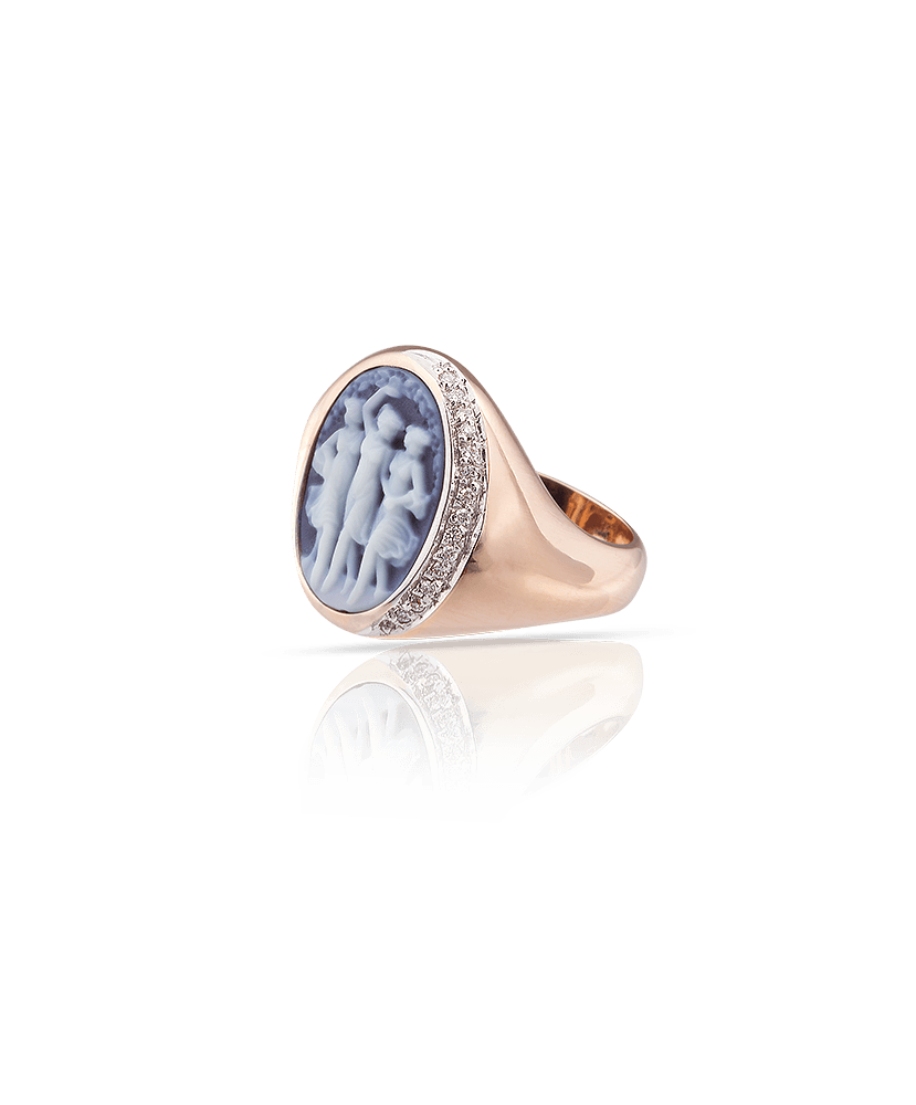 Silvia Kelly Lake Como - Lecco jewelry - Italian jewelry - Le Ballerine Degas ring