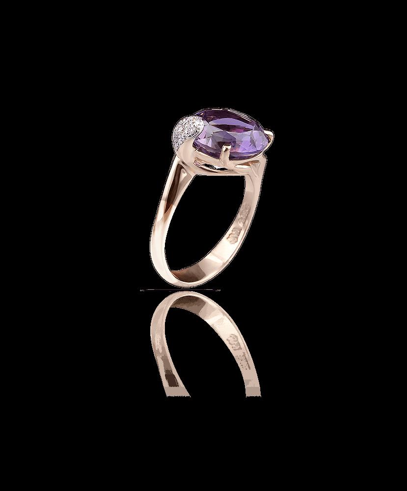 Silvia Kelly Lake Como - Lecco jewelry - Italian jewelry - London Amethyst ring