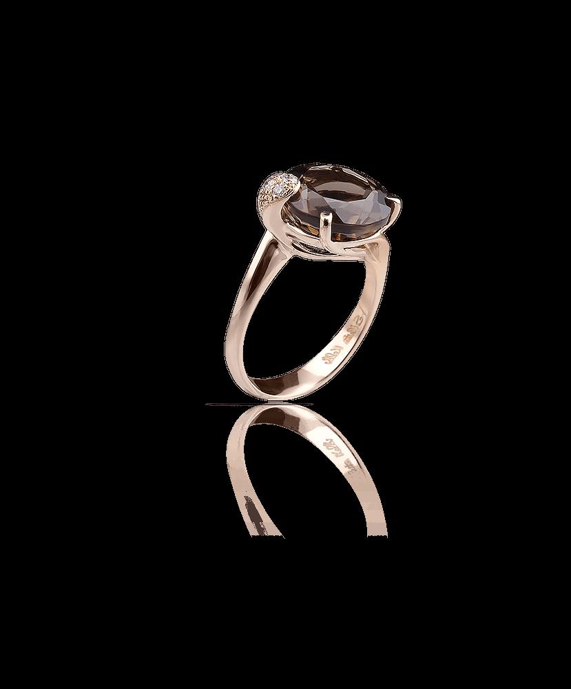Silvia Kelly Lake Como - Lecco jewelry - Italian jewelry - London Fumè ring
