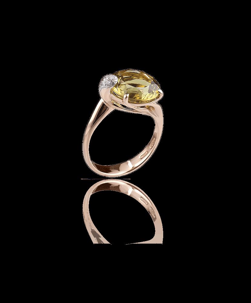 Silvia Kelly Lake Como - Lecco jewelry - Italian jewelry - London Lemon ring