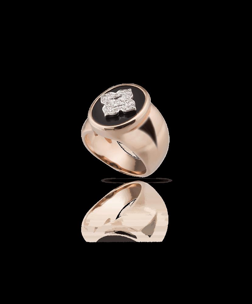 Silvia Kelly Lake Como - Lecco jewelry - Italian jewelry - Quadrifoglio ring