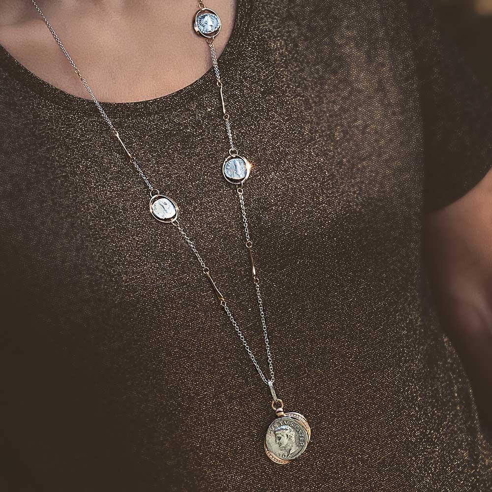 Silvia Kelly - Lecco jewelry - Italian jewelry - Monete Collection