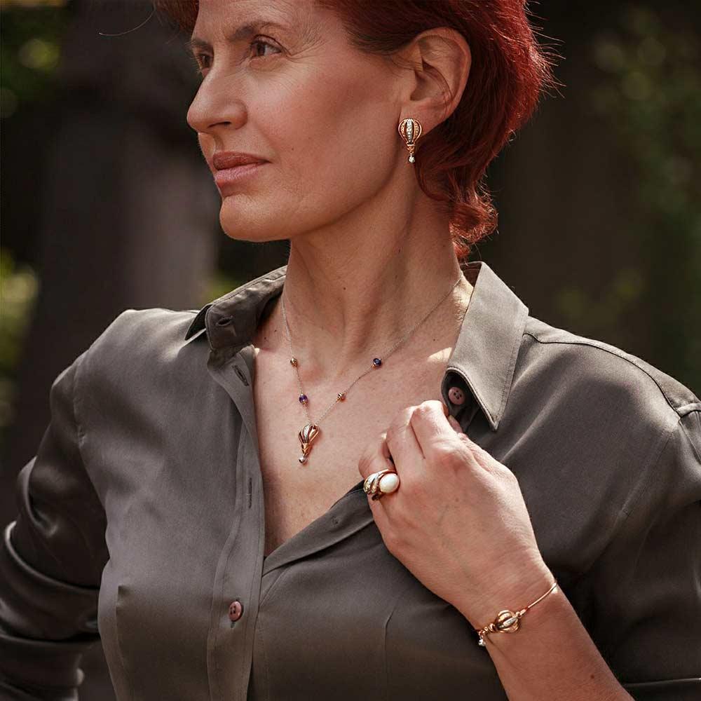 Silvia Kelly - Lecco jewelry - Italian jewelry - Mongolfiera Bracelet