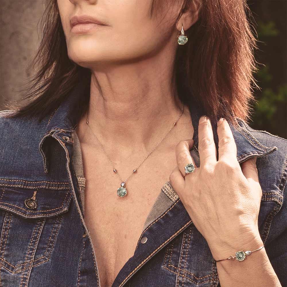 Silvia Kelly - Lecco jewelry - Italian jewelry - London Prasiolite Collection