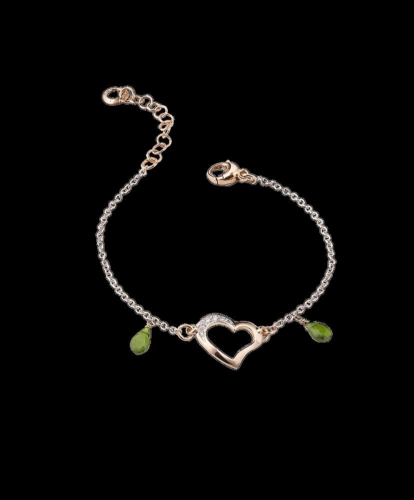 Silvia Kelly Lake Como - Lecco jewelry - Italian jewelry - Raffinato Cuore Bracelet