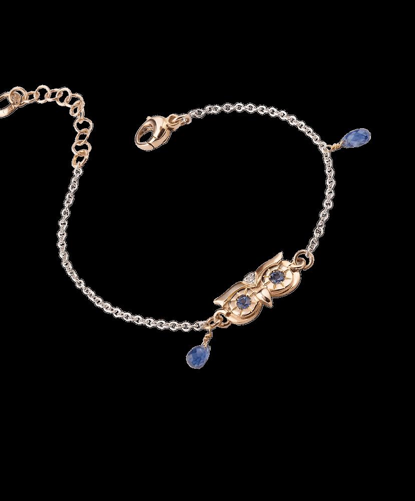 Silvia Kelly Lake Como - Lecco jewelry - Italian jewelry - Raffinato Gufo Bracelet