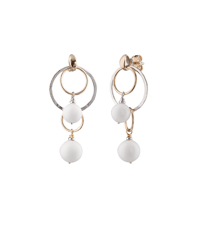 Silvia Kelly - Lecco jewelry - Italian jewelry - Chandelier Earrings