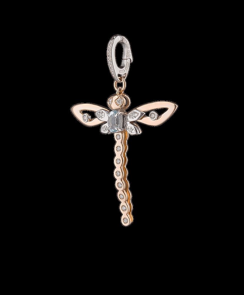 Silvia Kelly - Lecco jewelry - Italian jewelry - Dragonfly Pendant