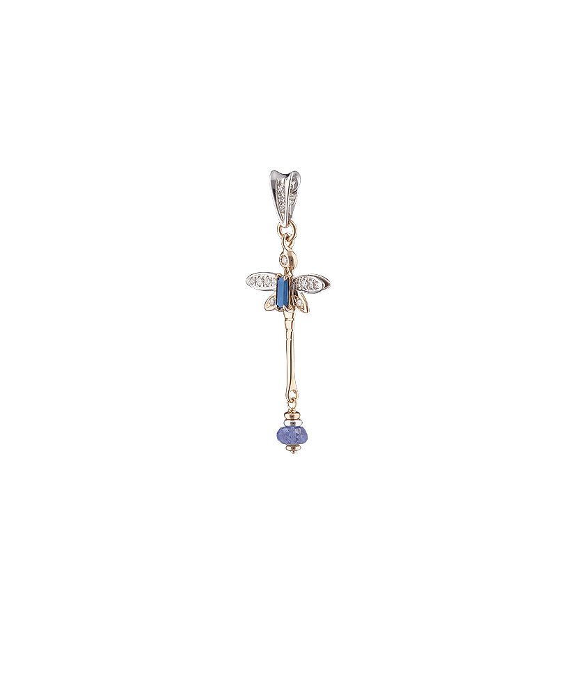 Silvia Kelly - Lecco jewelry - Italian jewelry - Iside Zaffiro Pendant