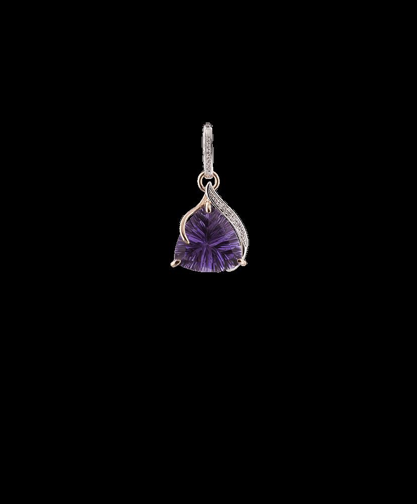 Silvia Kelly - Lecco jewelry - Italian jewelry - Odessa Amethyst Pendant