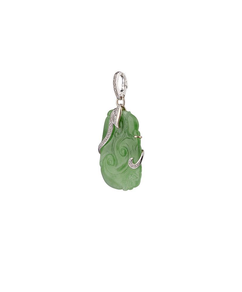 Silvia Kelly - Lecco jewelry - Italian jewelry - Jade Soledad Pendant