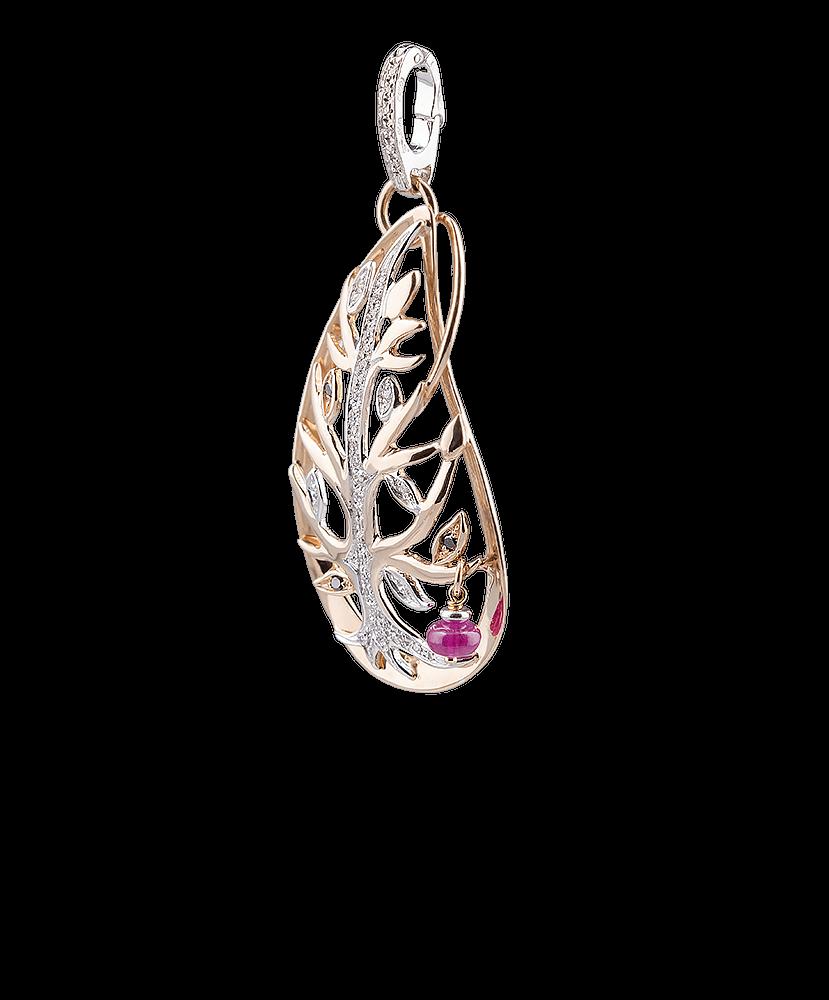 Silvia Kelly - Lecco jewelry - Italian jewelry - Tree of Life Pendant