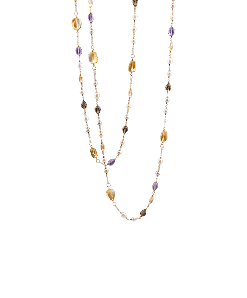 Silvia Kelly - Lecco jewelry - Italian jewelry - Color Necklace