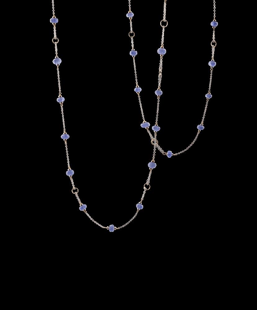 Silvia Kelly - Lecco jewelry - Italian jewelry - Fiordaliso Necklace