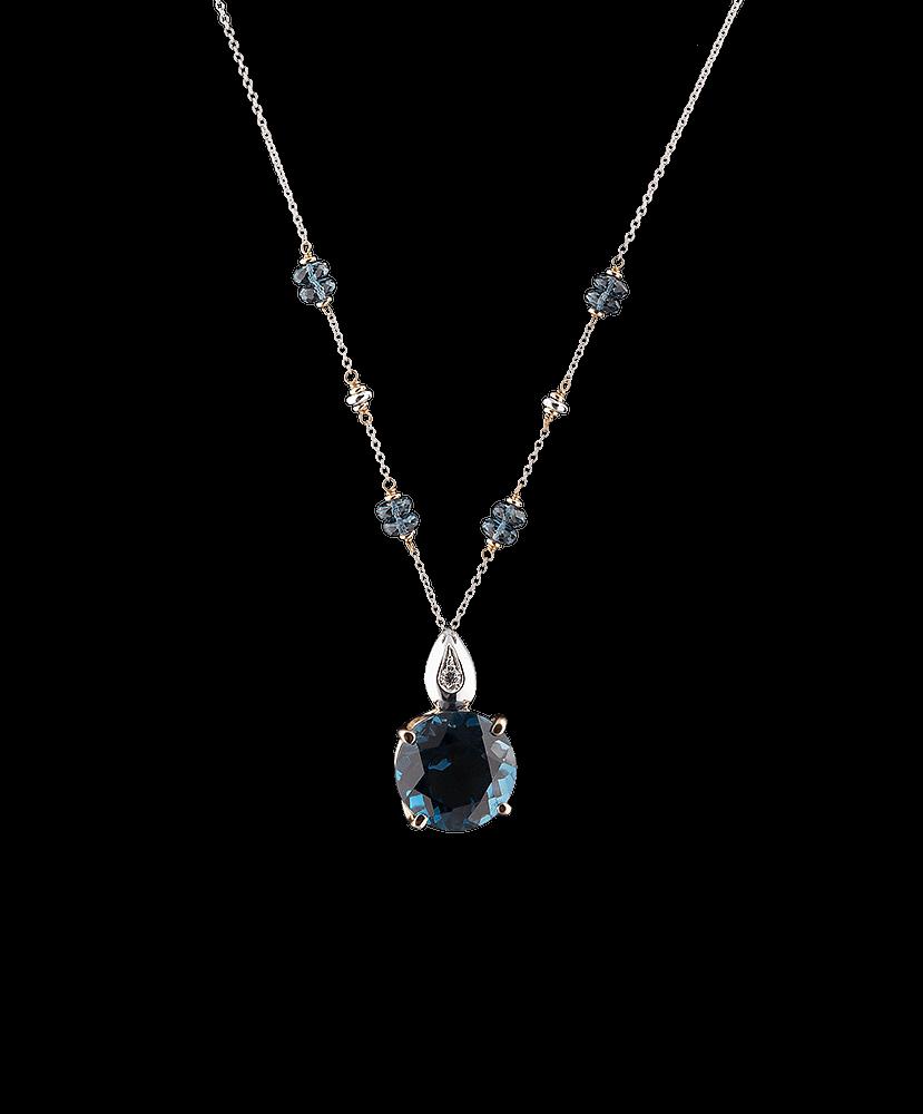 Silvia Kelly - Lecco jewelry - Italian jewelry - London Blue Choker