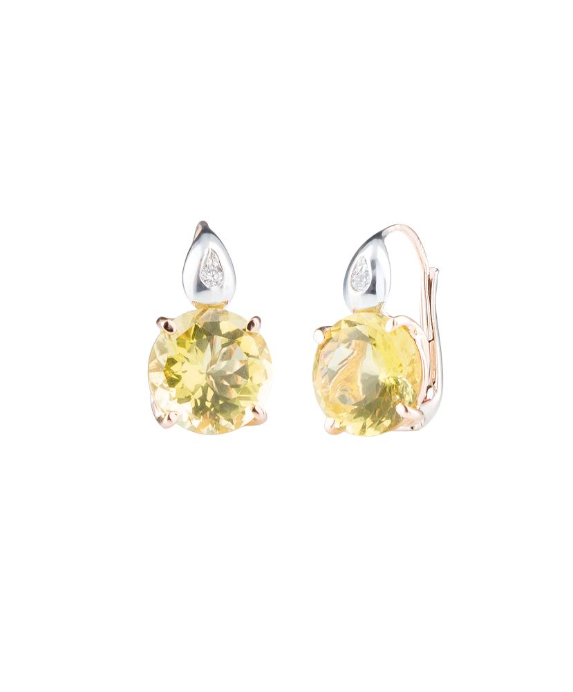 Silvia Kelly - Lecco jewelry - Italian jewelry - London Lemon Earrings