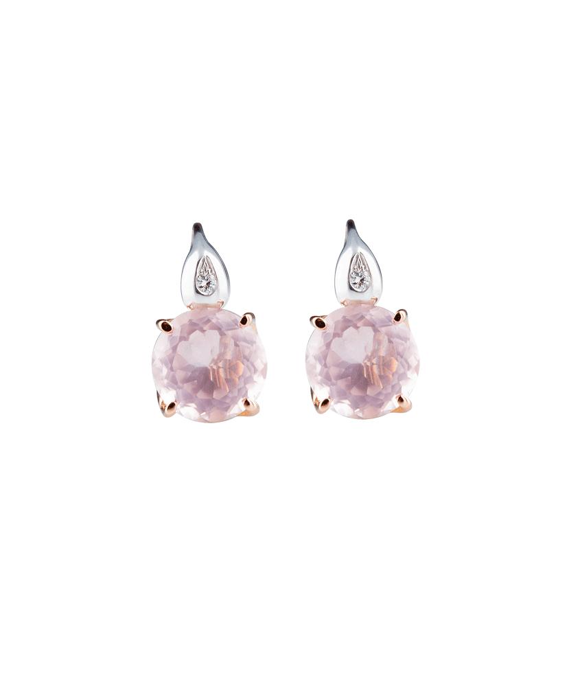 Silvia Kelly - Lecco jewelry - Italian jewelry - London Rosa Earrings