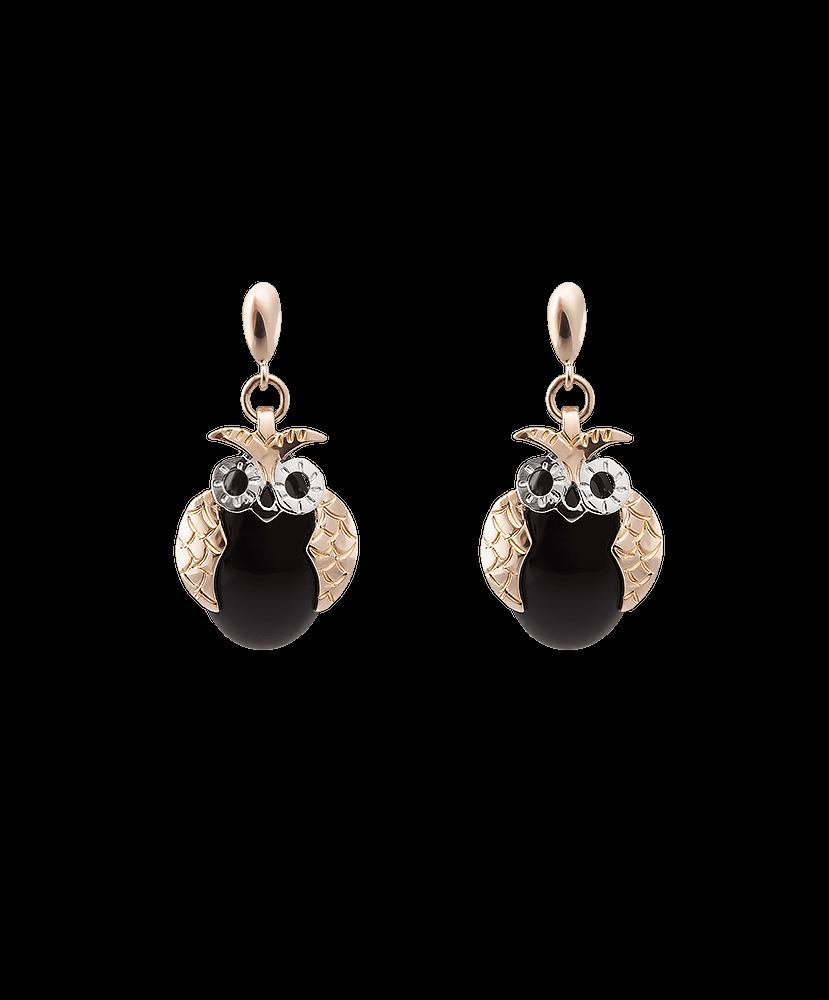 Silvia Kelly - Lecco jewelry - Italian jewelry - Civetta Earrings