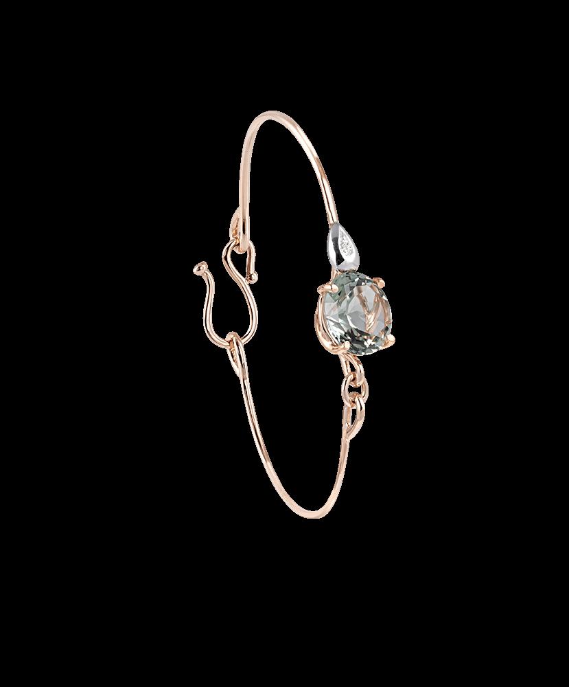 Silvia Kelly Lake Como - Lecco jewelry - Italian jewelry - London Prasiolite Bracelet