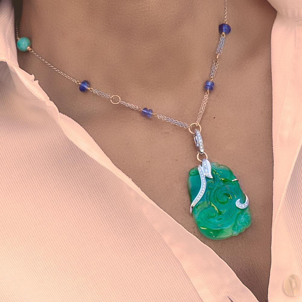 Silvia Kelly - Lecco jewelry - Italian jewelry - Giada Parure