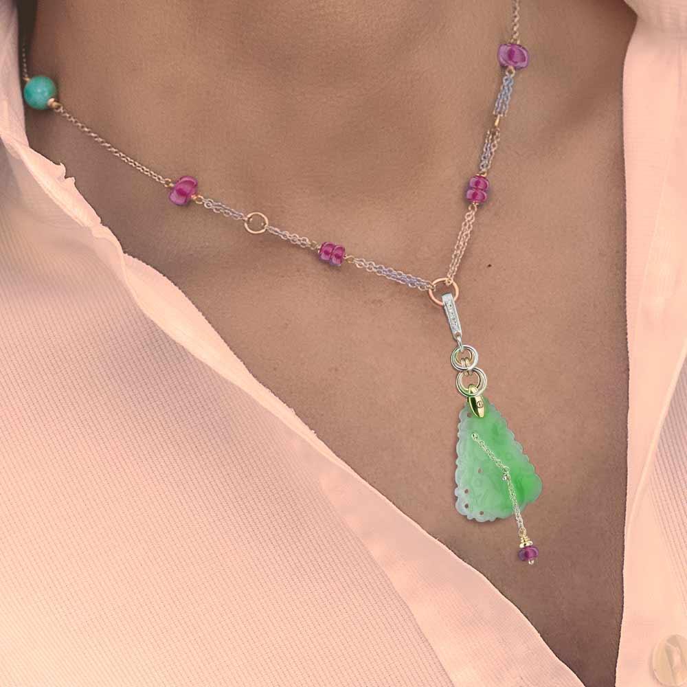 Silvia Kelly Lake Como - Lecco jewelry - Italian jewelry - Petronilla Pendant