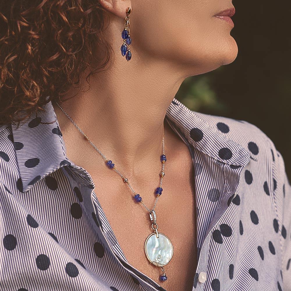 Silvia Kelly - Lecco jewelry - Italian jewelry -, Eternità Pendant, Matilde Choker