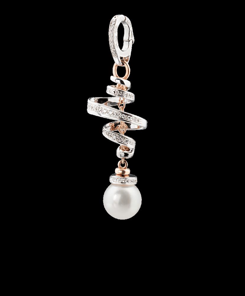 Silvia Kelly Lake Como - Lecco jewelry - Italian jewelry - Nastro Pendant