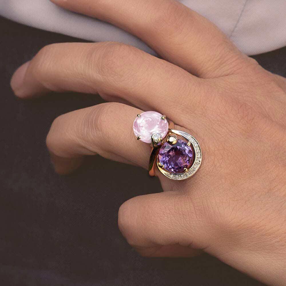 Silvia Kelly Lake Como - Lecco jewelry - Italian jewelry - Raissa ring