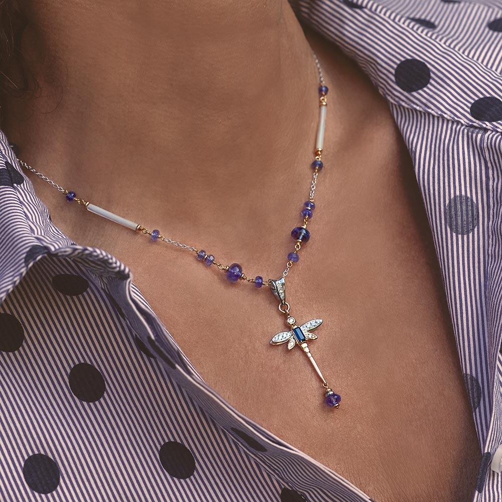 Silvia Kelly - Lecco jewelry - Italian jewelry -, Serena Choker