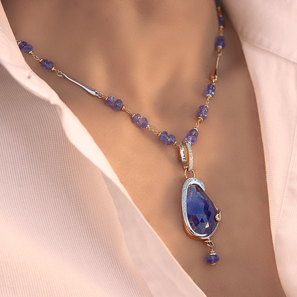 Silvia Kelly - Lecco jewelry - Italian jewelry - Zoe Pendant, Noemi Choker