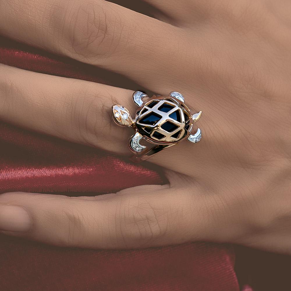 Silvia Kelly - Lecco jewelry - Italian jewelry - Tartaruga ring