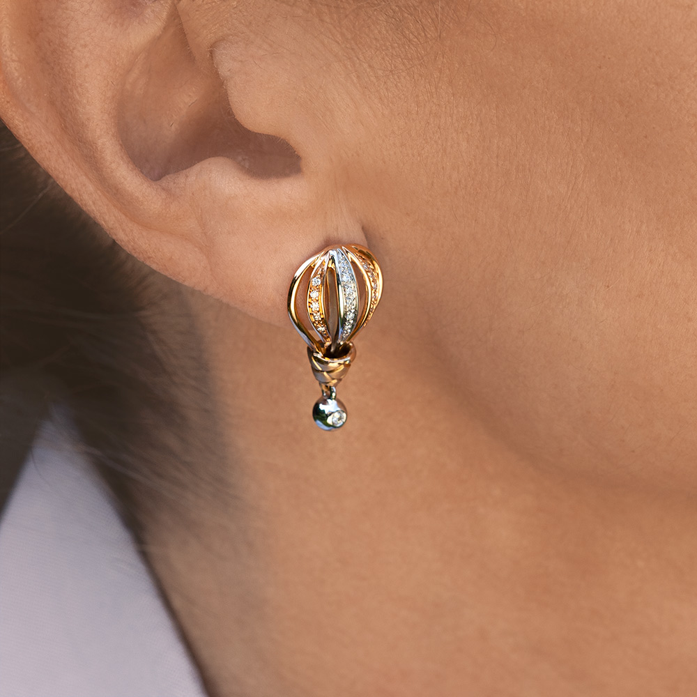 Silvia Kelly - Lecco jewelry - Italian jewelry - Mongolfiera Earrings