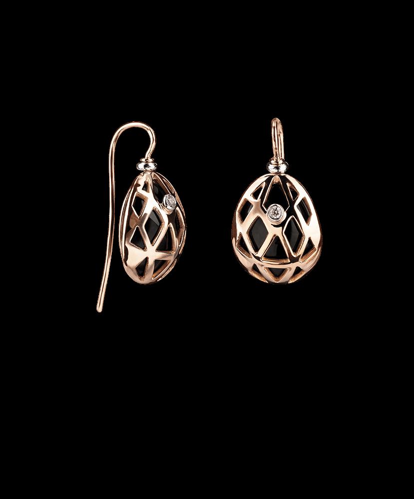 Silvia Kelly - Lecco jewelry - Italian jewelry - Tartaruga Earrings