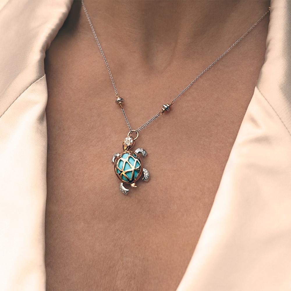 Silvia Kelly - Lecco jewelry - Italian jewelry - Tartaruga Choker