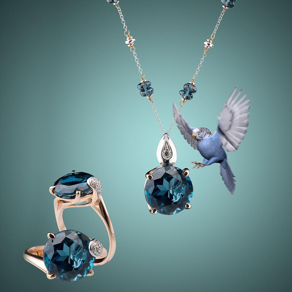 Silvia Kelly Gioielli - Gioielleria Lecco - Gioielli Italiani - Collezione London Blue