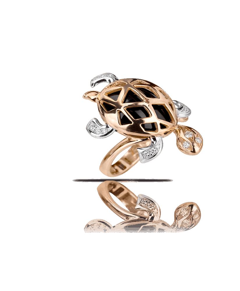 Silvia Kelly Lake Como - Lecco jewelry - Italian jewelry - Tartaruga ring